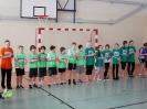 Gminny turniej halowej piłki nożnej chłopców i dziewcząt