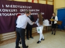 I Międzyszkolny Konkurs Ortograficznie o Żmigrodczyźnie